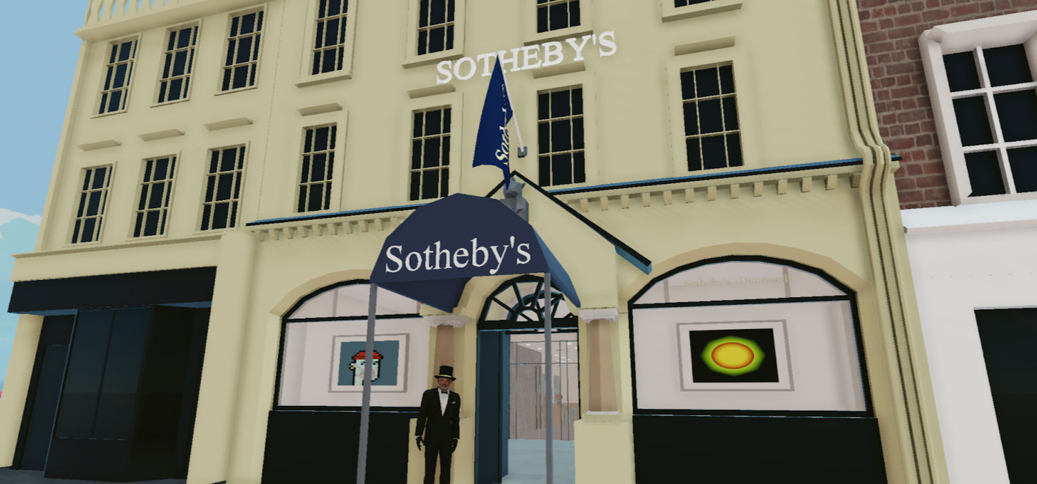 Sotheby's opens a virtual gallery in Decentraland
